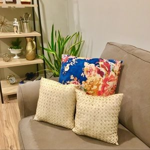 Set of 2 Pottery Barn Sequence Pillows